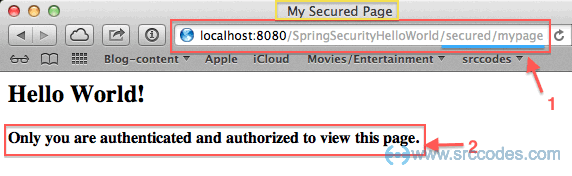 Spring security redirect to the initially requested URL