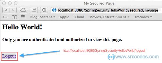 Spring login form