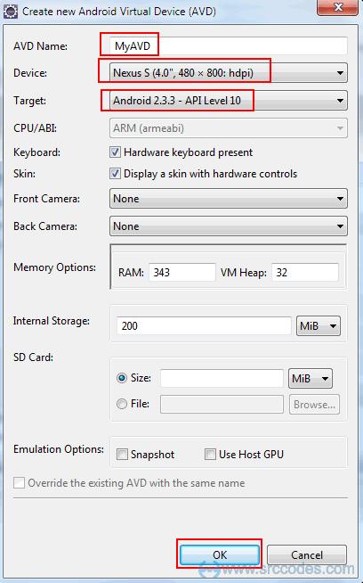 Configure AVD