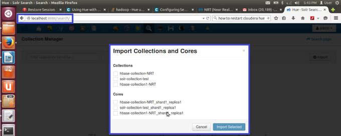 Import Collections and Cores