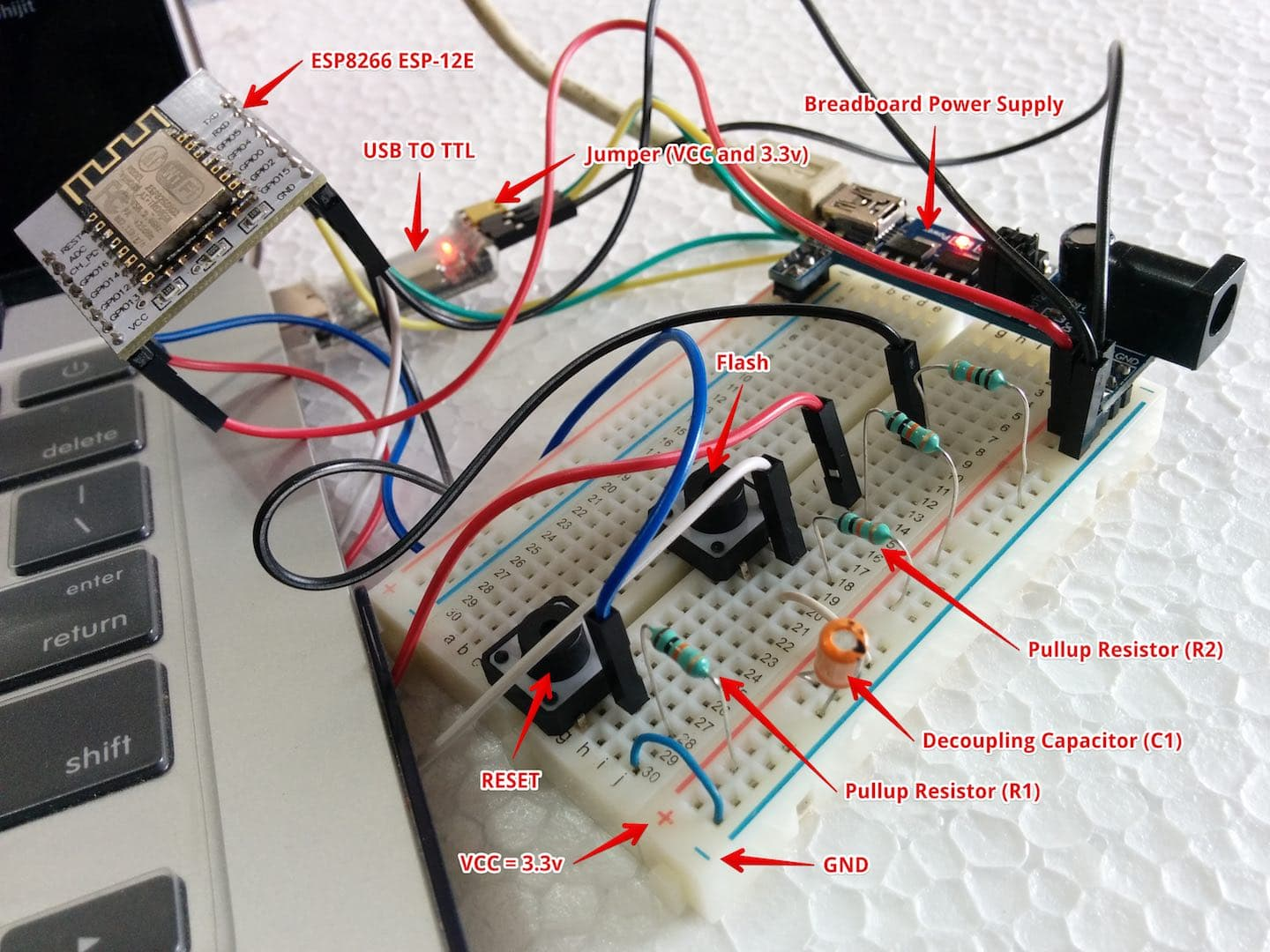 Circuit Design using Breadboard
