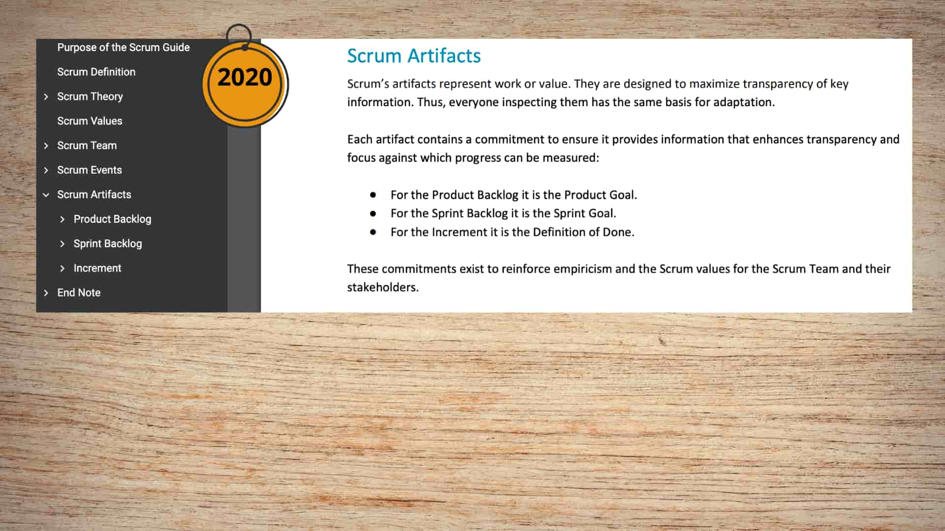 scrum-artifacts